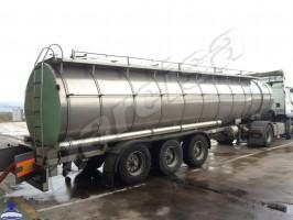 Używana spożywcza FARCINOX, ATP, 29.000 litrów, mleko, olej, inne